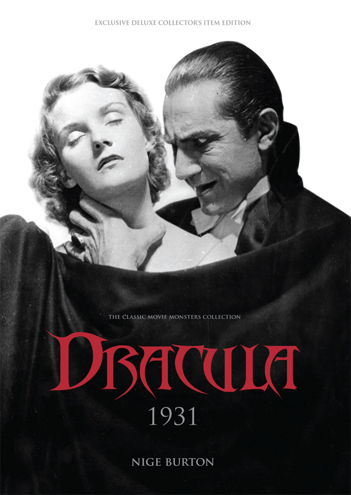 dracula 1931 deluxe signed hardback classic monsters shop