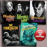Universal Monsters 5-Guide Box Set 2