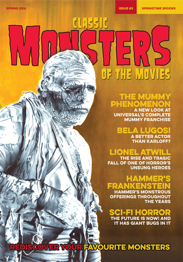 Classic Monsters Magazine Issue 2 Classic Monsters Shop