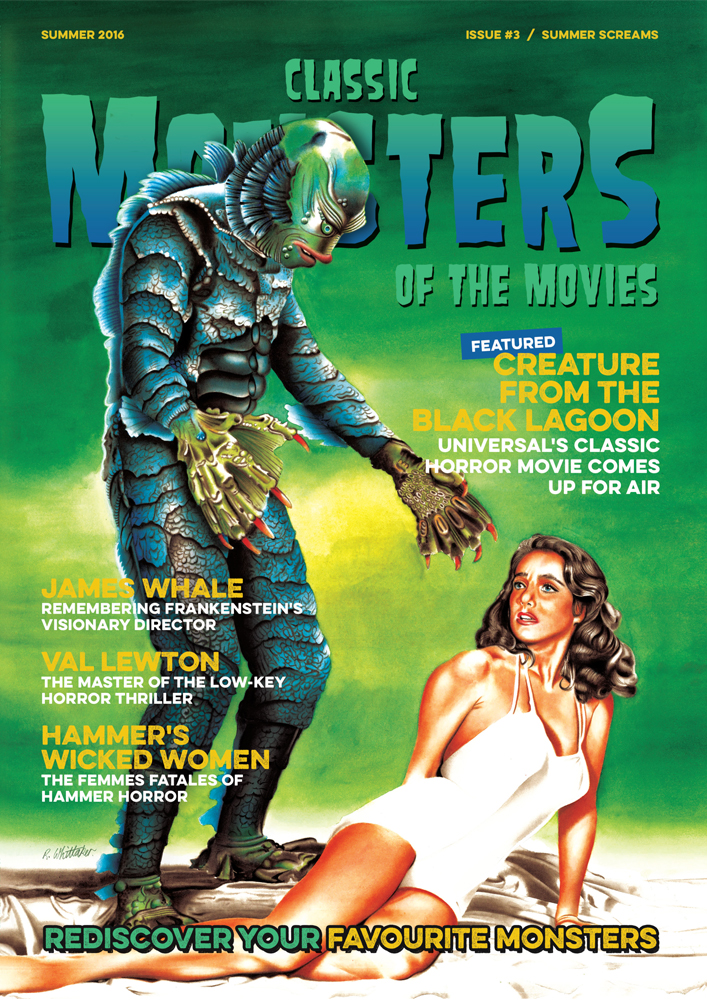 Classic monsters magazine issue 3 classic monsters shop for Classic 3