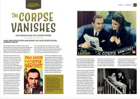 Classic Monsters of the Movies Issue #8: The Corpse Vanishes