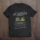 Jekyll & Hyde T-Shirt: Dr Jekyll's Pharmacy