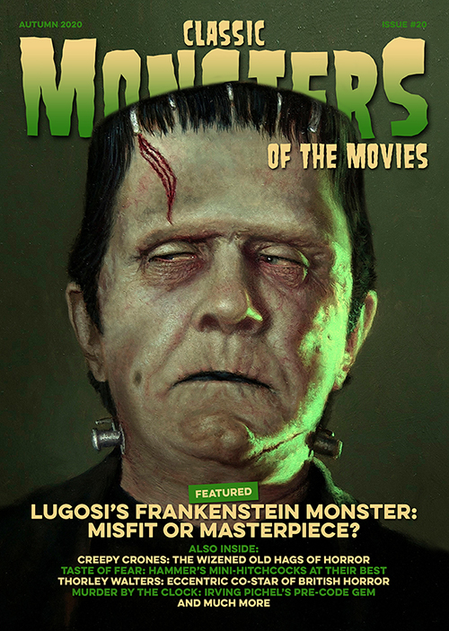 Classic Monsters of the Movies issue #20