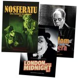 Nosferatu / Phantom / London After Midnight Silent Monster Bundle