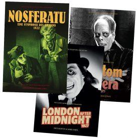 Nosferatu / Phantom / London After Midnight Silent Monster Bundle