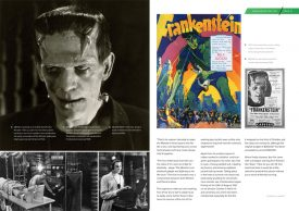 Frankenstein 1931 – sample of inner pages 2