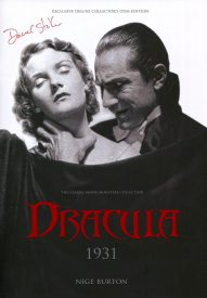 Dracula Universal 1931 Ultimate Guide Signed by Dacre Stoker in Blood Red