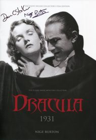 Dracula 1931 Ultimate Guide signed by Dacre Stoker & Nige Burton