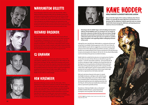 Jason - Friday the 13th Franchise Guide Biography Spread