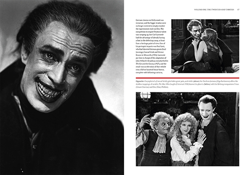 A Pictorial History of Universal Monsters Volume One: The Twenties and Thirties - Chapter 1 Page Spread