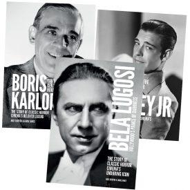 Bela Lugosi / Boris Karloff / Lon Chaney Jr Biography Bundle