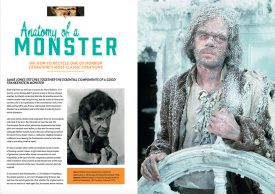 Classic Monsters of the Movies Issue #8: Anatomy of a Monster