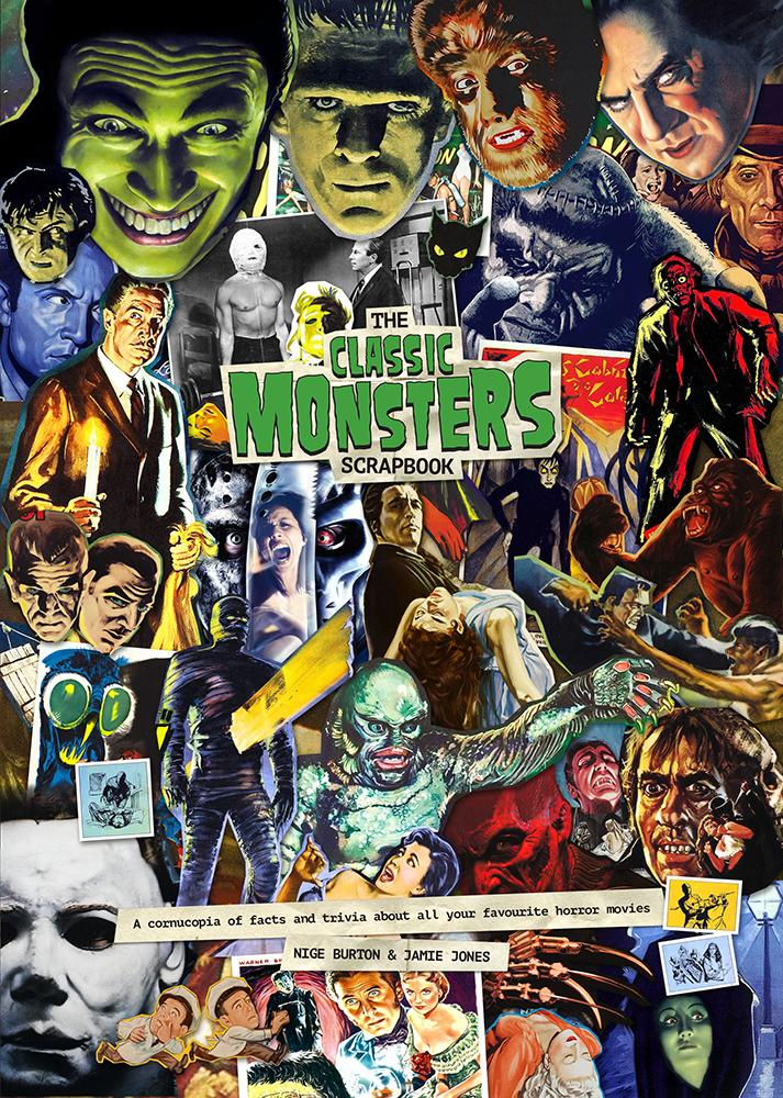 Classic Monsters Scrapbook Standard Hardback Classic Monsters Shop