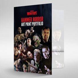 Hammer Horror Art Print Wallet