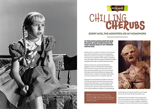 Classic Monsters Magazine Issue #15 - Chilling Cherubs Article