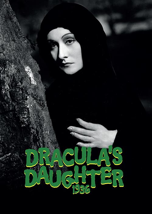 Dracula's Daughter 1936 Hardback Art Print
