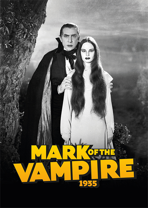 Mark of the Vampire 1935 Hardback Art Print