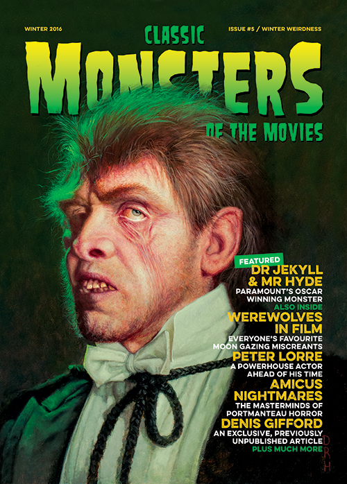 Classic Monsters of the Movies issue #5