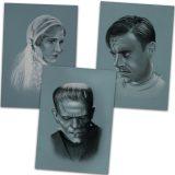 Frankenstein 1931 Art Print Set