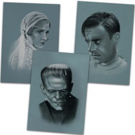 Frankenstein 1931 Art Print Set