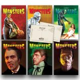 Classic Monsters of the Movies Cover Postcard Set #1
