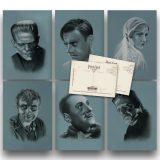 Universal Frankenstein Postcard Set 1