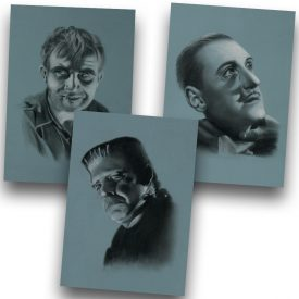 Frankenstein Art Print Set 2