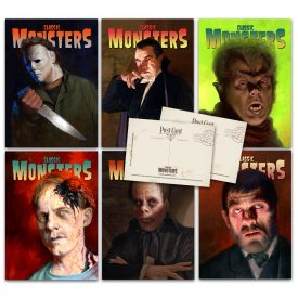 Classic Monsters of the Movies Cover Postcard Set #3