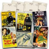 Classic Jekyll & Hyde Movies Postcard Set #1