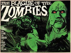 Classic Zombie Movies Postcard Set