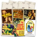 Classic Mad Doctor Movie Postcard Set