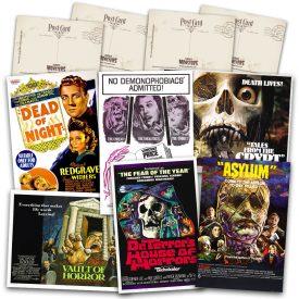 Classic Portmanteau Movies Postcard Set #1