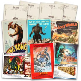 Stop Motion Animation Classics Postcard Set #1