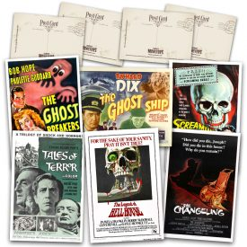 Classic Ghost Stories Postcard Set #1