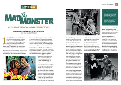Classic Monsters of the Movies issue #21