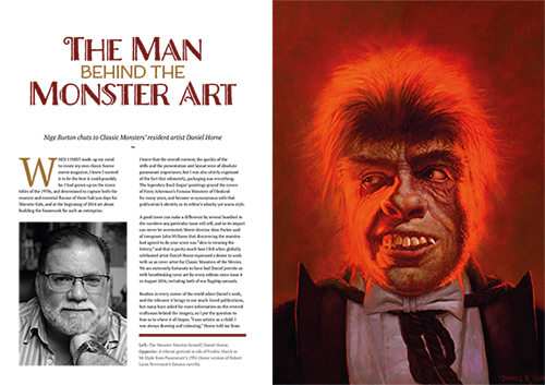 Classic Monsters Annual 2021 Magazine