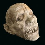 Nosferatu Stone-Cast Vampire Head Ornament