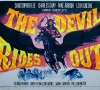 Original cinematic poster for The Devil Rides Out (Hammer 1968)