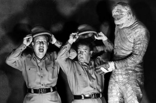 Abbott and Costello Meet the Mummy (Universal 1955)