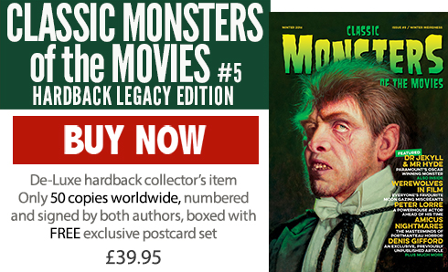 Classic Monsters of the Movies issue #5 Legacy Edition Hardback