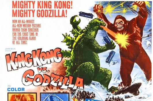 King Kong versus Godzilla (Toho 1962)