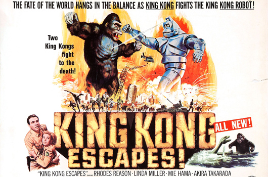 King Kong Escapes (Toho 1968)