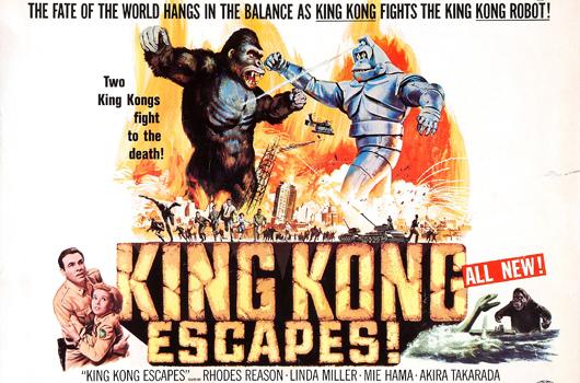King Kong Escapes (Toho 1968)