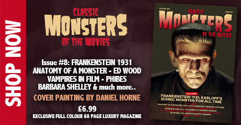 Classic Monsters of the Movies Issue #8