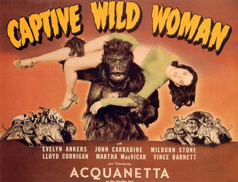 Captive Wild Woman (Universal 1943)
