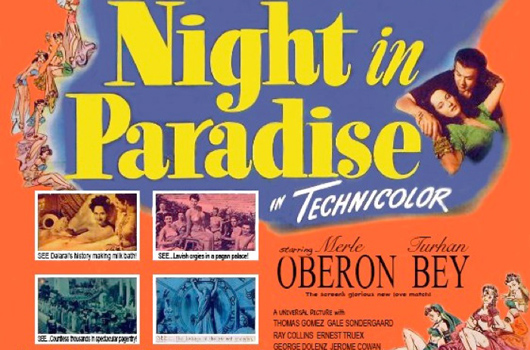 Night in Paradise (Universal 1946)