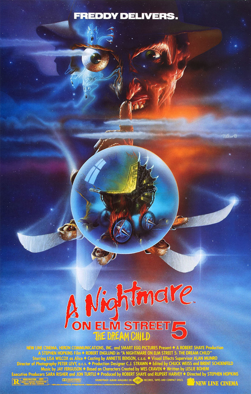 A Nightmare on Elm Street 5: The Dream Child (New Line 1989)