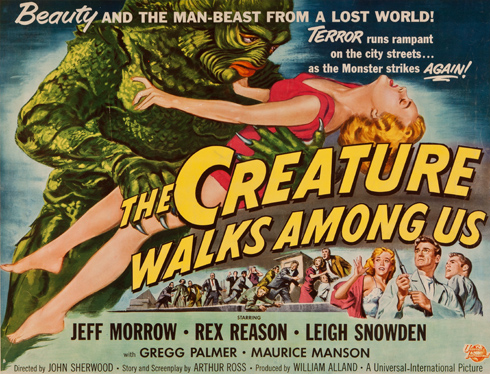 The Creature Walks Among Us (Universal 1956)