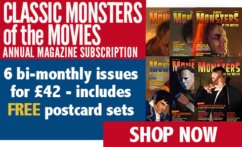 Classic Monsters of the Movies 6-Issue Subscription