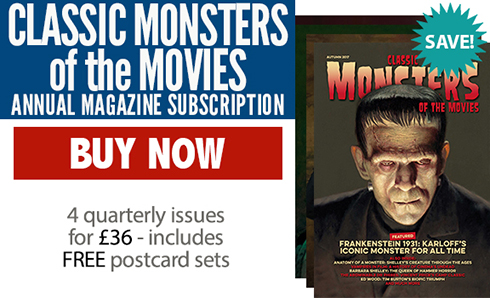 Classic Monsters of the Movies Annual Subscription